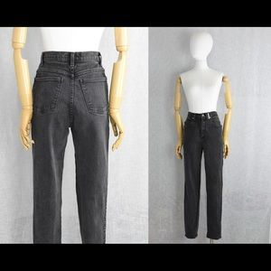 Black Sasson perfect flattering vntge 80s mom jean